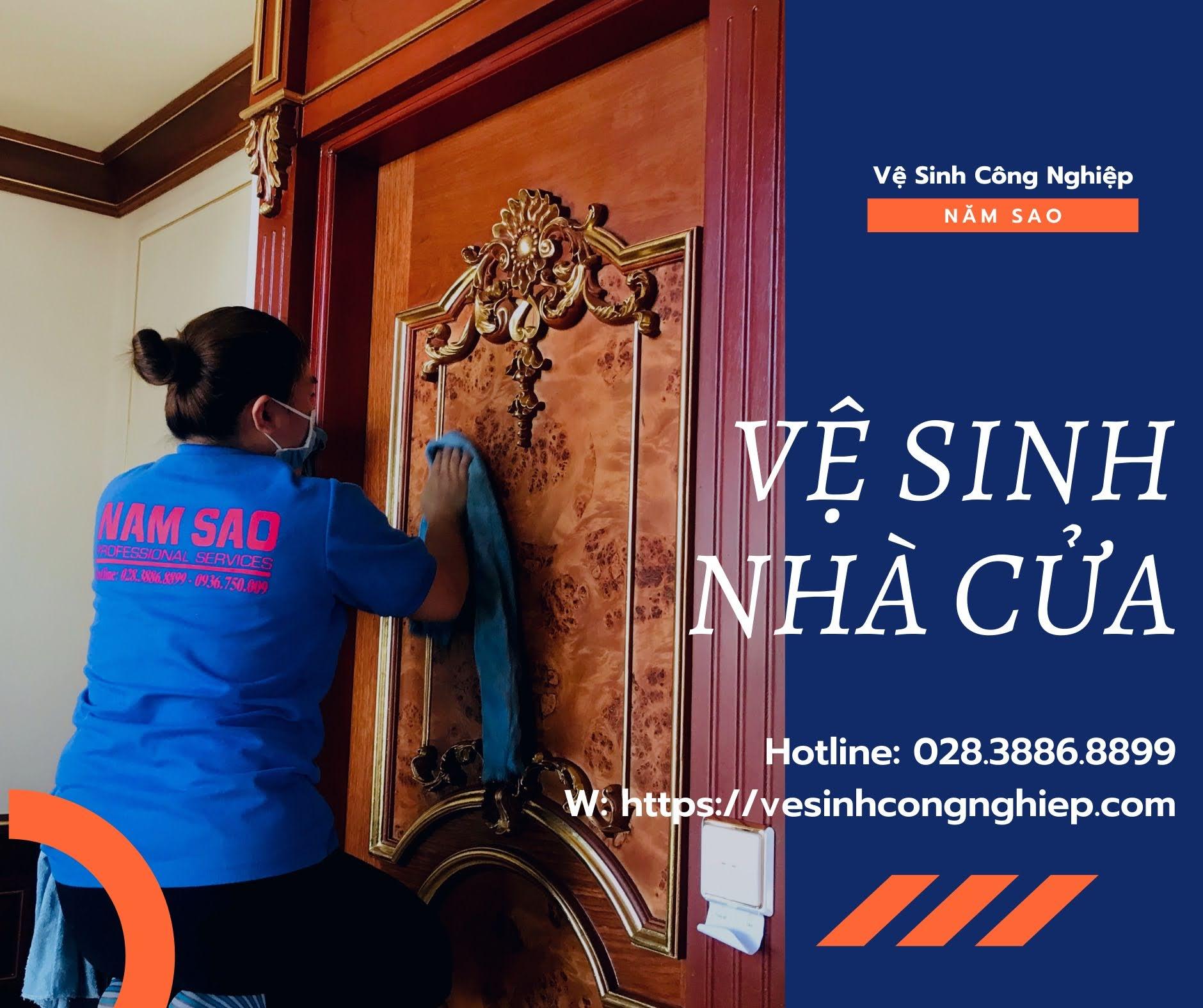 dịch vụ dọn vệ sinh nhà mới xây