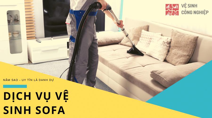 dịch vụ vệ sinh sofa