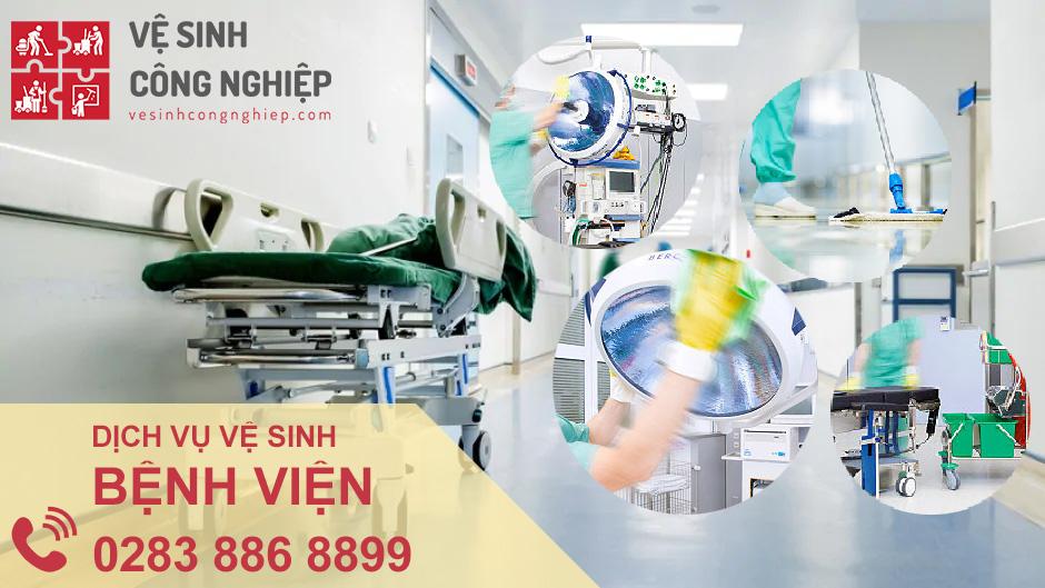 dịch vụ vệ sinh bệnh viện Năm Sao