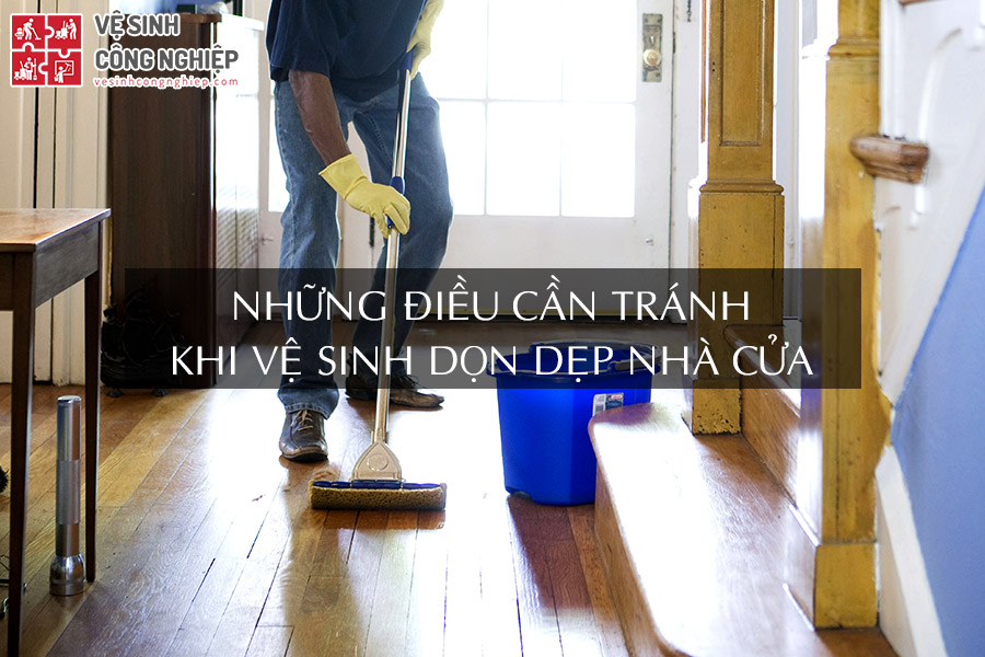 vệ sinh nhà cửa
