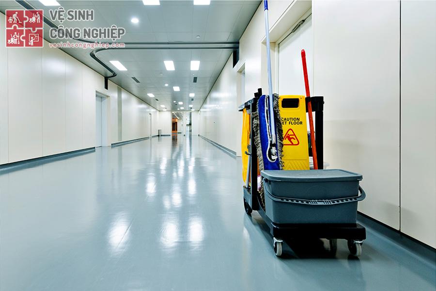 vệ sinh bệnh viện cần lưu ý
