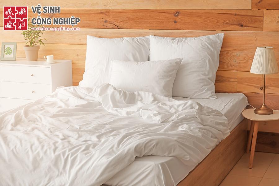 hướng dẫn vệ sinh ga trải giường