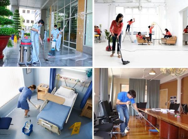 vệ sinh công nghiệp chuyên nghiệp tại TP HCM