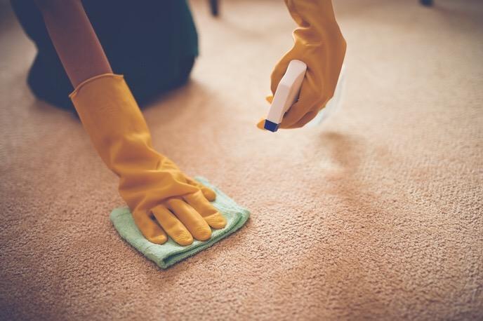 Cách giặt thảm