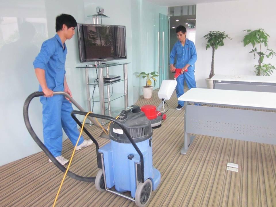thuê dịch vụ giặt thảm