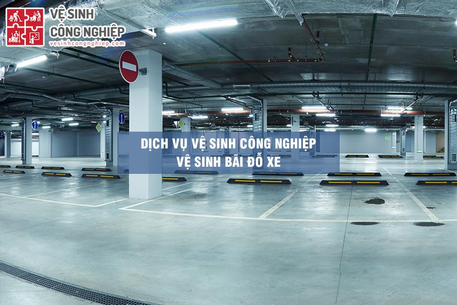 dịch vụ vệ sinh bãi xe chuyên nghiệp
