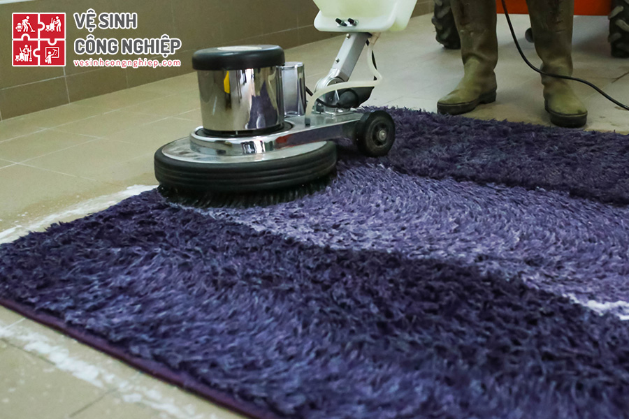 vệ sinh thảm