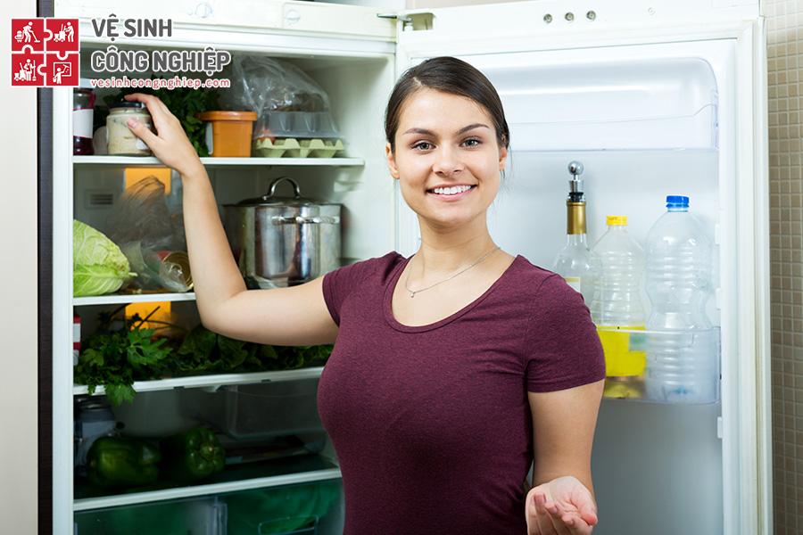 mẹo khử mùi tủ lạnh - hình 2