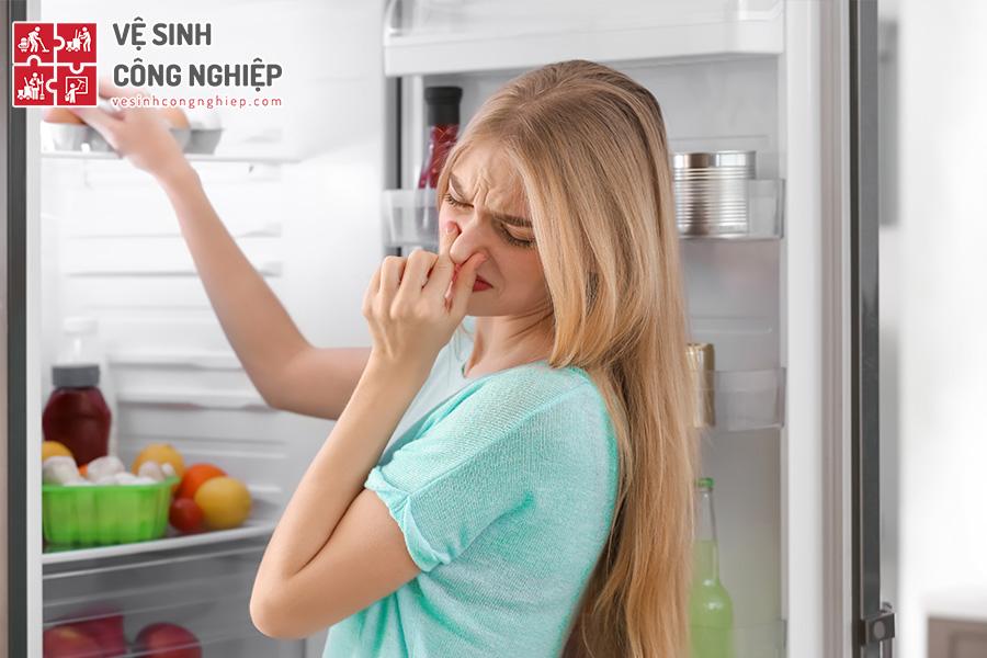 mẹo khử mùi tủ lạnh
