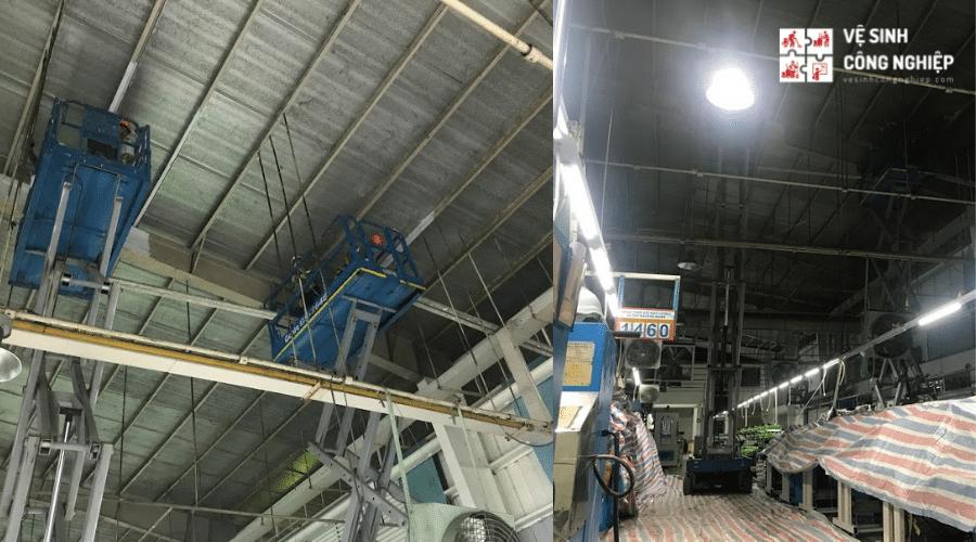 Địa chỉ cung cấp dịch vụ vệ sinh nhà xưởng kho bãi giá rẻ uy tín tại TpHCM