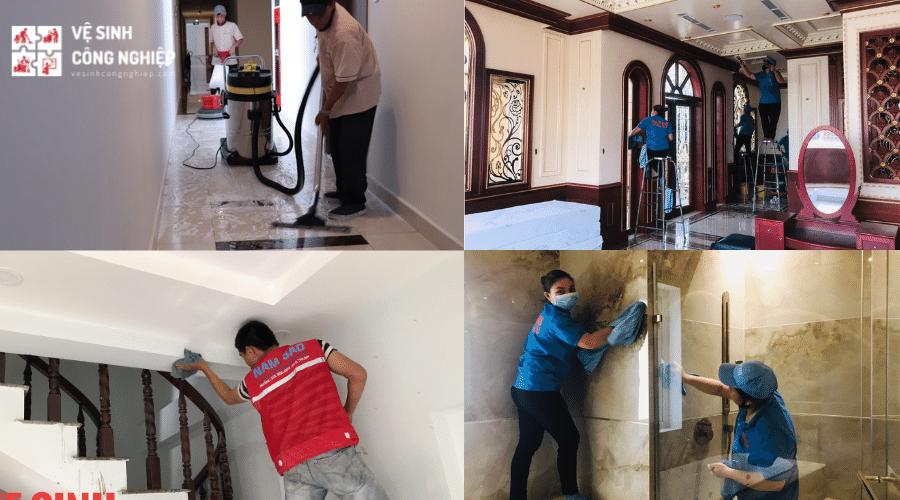 Dịch vụ dọn dẹp nhà