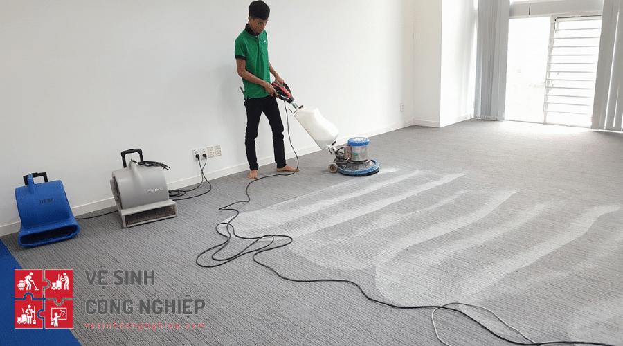 Quy trình giặt thảm các loại tại khu vực Thành phố Hồ Chí Minh (TPHCM)