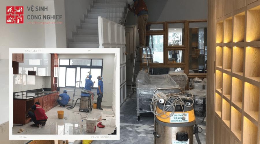 Lưu ý khi dọn dẹp và vệ sinh nhà sau xây dựng đúng cách