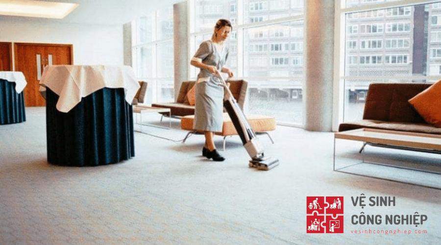 Một số vấn đề bạn chú ý khi giặt thảm văn phòng