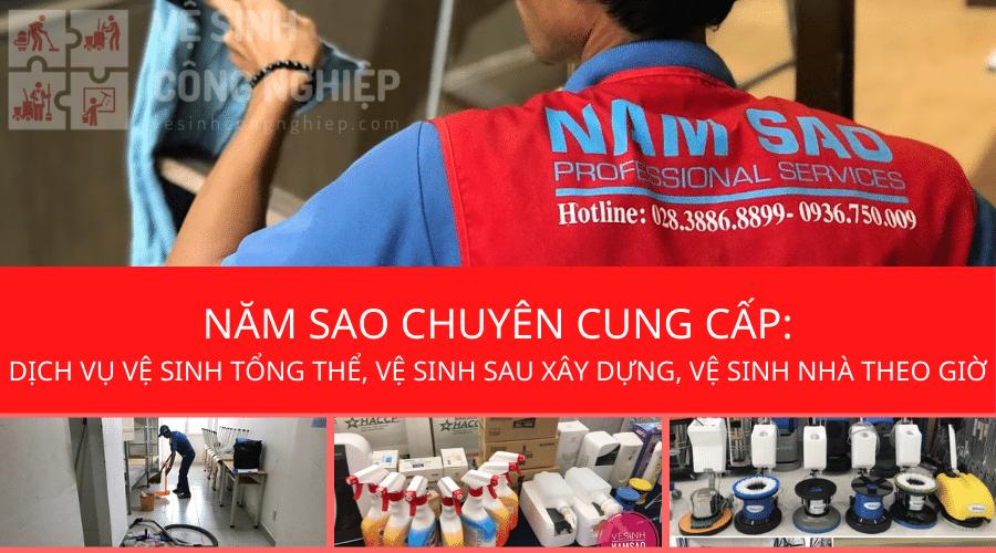 Các gói dịch vụ vệ sinh nhà cửa Năm sao cung cấp